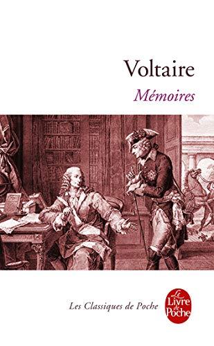 9782253907190: Mémoires pour servir à la vie de M. de Voltaire, écrits par lui-même