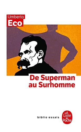9782253942092: De superman au surhomme