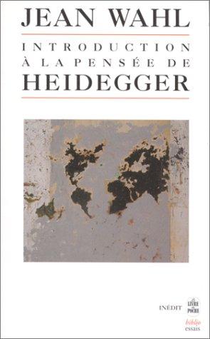 9782253942627: Introduction a Pensee de Heidegger (Ldp Bib.Essais) (French Edition)