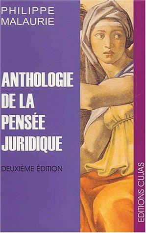 9782254013012: Anthologie de la pensée juridique. 2ème édition