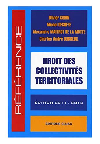 9782254115099: Droit des collectivit�s territoriales