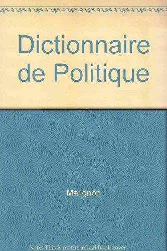 9782254675227: Dictionnaire de politique