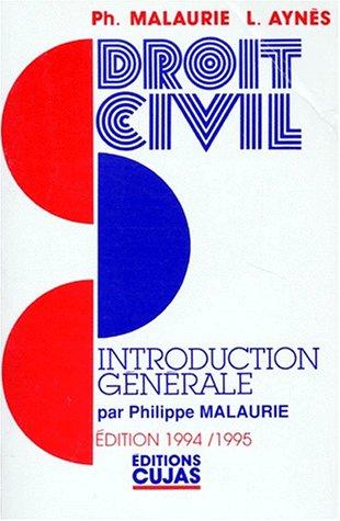 9782254943227: INTRODUCTION GENERALE. 2ème édition