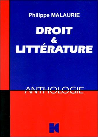 9782254973194: Droit et littérature : Une anthologie