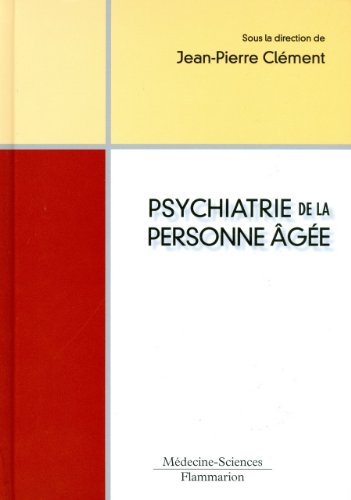 9782257000781: Psychiatrie de la personne âgée (French Edition)