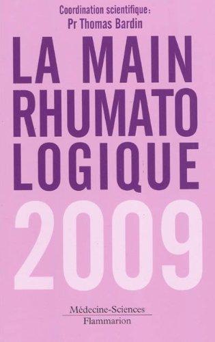 MAIN RHUMATOLOGIQUE 2009 -LA-: BARDIN THOMAS