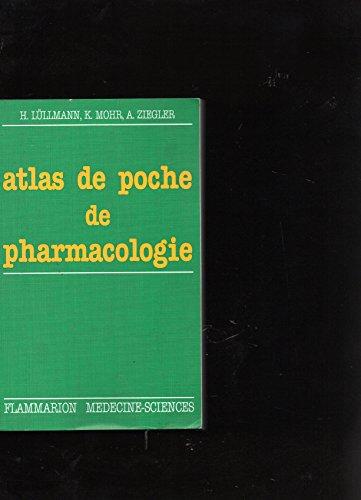 9782257101198: Atlas de poche de pharmacologie