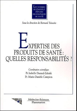 9782257109590: Expertise des produits de santé (French Edition)