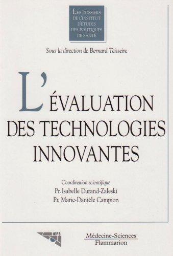 9782257110671: L'�valuation des technologies innovantes