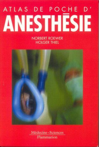 9782257113276: Atlas de poche d'anesthésie