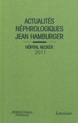ACTUALITES NEPHROLOGIQUES JEAN HAMBURGER: COLLECTIF