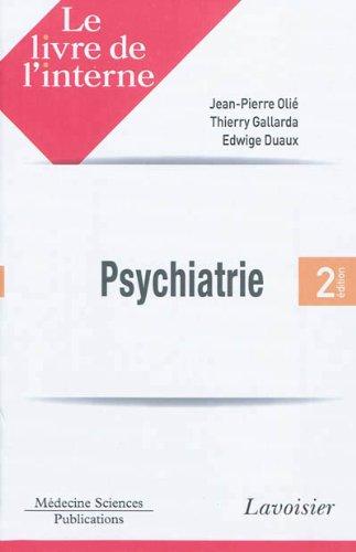 9782257205018: le livre de l'interne en psychiatrie (2e édition)