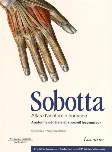 Sobotta Atlas D anatomie Humaine (Paperback): Johannes Sobotta, Jens Waschke