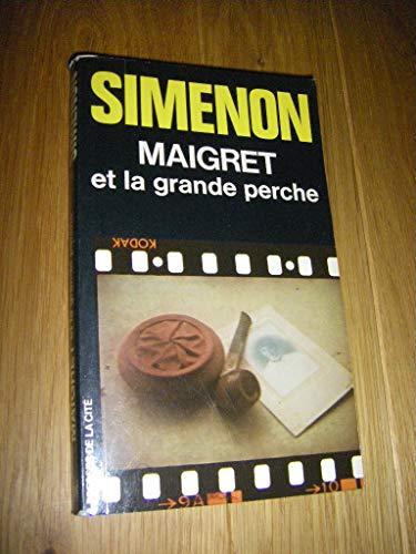9782258000438: MAIGRET ET LA GRANDE PERCHE