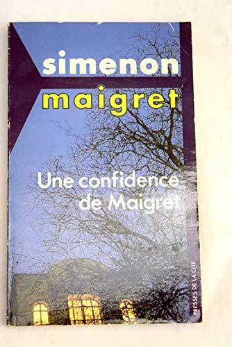 9782258001619: Confidence de maigret (une) (P.C.Maigret)
