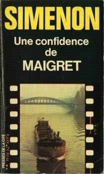 9782258001619: Une confidence de Maigret