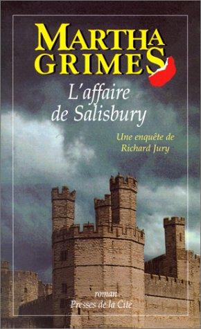 9782258002180: L'Affaire de Salisbury. Une enquête de Richard Jury