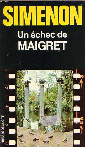 9782258002746: Un Echec De Maigret (A Failure of Maigret)