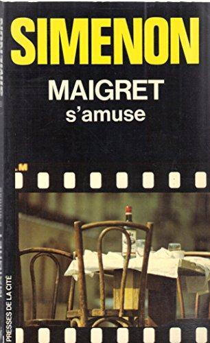 9782258003781: Maigret s'amuse