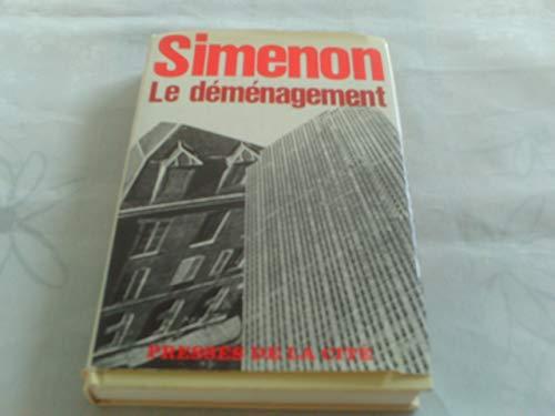 9782258004306: Demenagement (le) (Simenon)