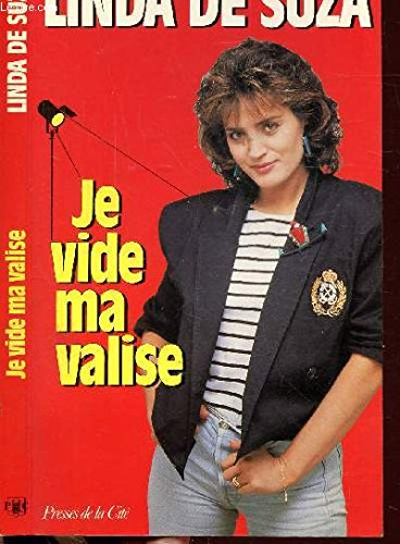 9782258022737: Je vide ma valise (French Edition)
