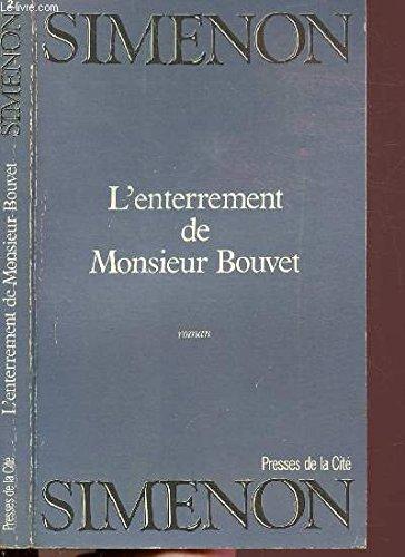 9782258023147: L'enterrement de Monsieur Bouvet