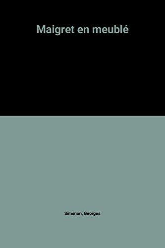 9782258029194: Maigret en meublé