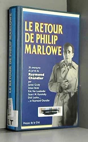 Le retour de philip marlowe (Romans) - Collectif