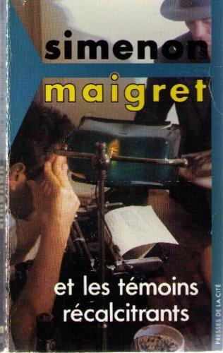 9782258030152: MAIGRET