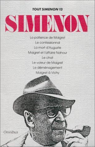 9782258033030: Tout Simenon, Tome 13 :