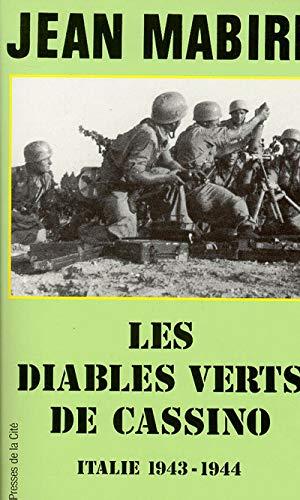 9782258033245: Les diables verts de Cassino - Italie 1943-1944