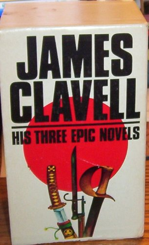 9782258039506: Set 3 Boxed James Clavell - His Three Epic Novels: Shogun, Tai-Pan, and King Rat