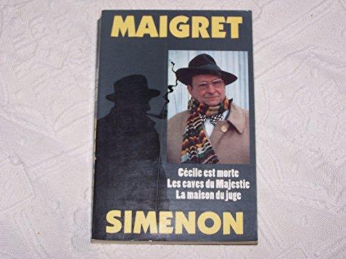 9782258039742: Maigret t3 : Cécile est morte