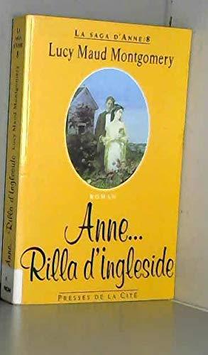 9782258040946: La saga d'Anne, Tome 8 : Rilla d'Ingleside