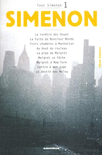 9782258060425: 1: Tout Simenon (French Edition)