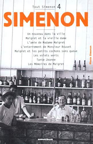 Tout Simenon - Tome 4: Simenon, Georges