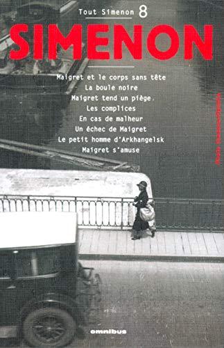 Tout Simenon: Unications 8 (French Edition): Simenon, Georges