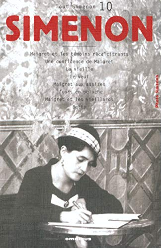 9782258060517: Tout Simenon: Centenaire 10 (French Edition)