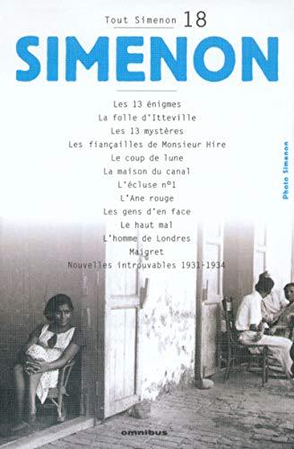 9782258061033: Tout Simenon, tome 18