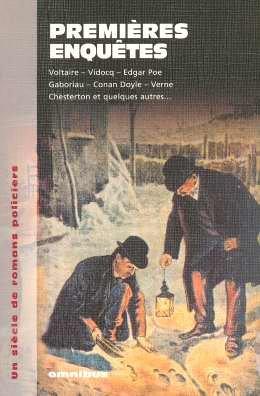9782258063808: Premières enquêtes : Un siècle de romans policiers