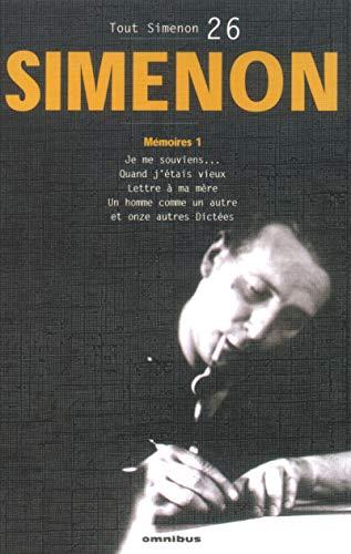 9782258064065: Tout Simenon 26 (French Edition)
