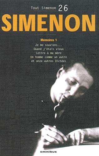 Tout Simenon 26 (French Edition): Simenon, Georges