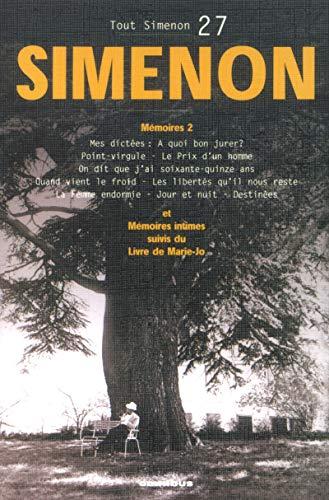 9782258064072: Tout Simenon, Tome 2 (French Edition)