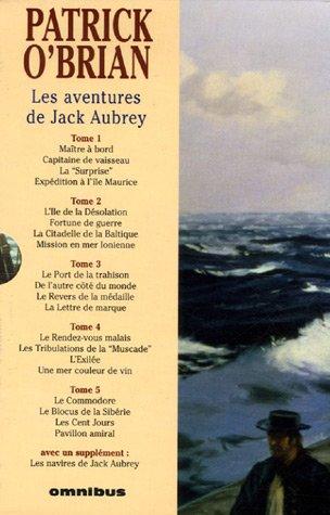 9782258072794: Les aventures de Jack Aubrey : Coffret en 5 volumes : Tomes 1 à 5 : Avec Les navires de Jack Aubrey