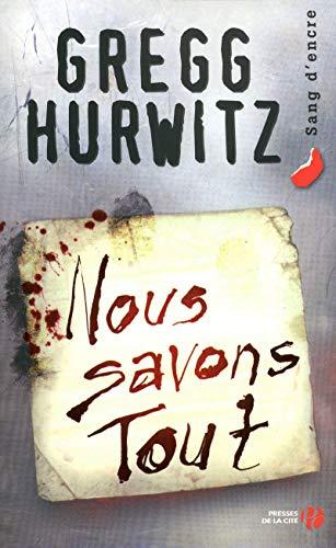 Nous savons tout: Hurwitz, Gregg