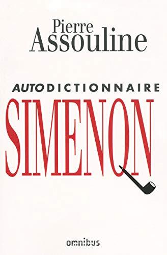9782258080096: Autodictionnaire Simenon