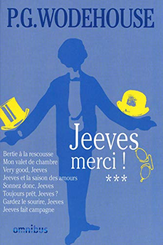 9782258081536: Jeeves, Tome 3 : Jeeves, merci !