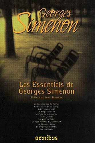 Les Essentiels de Georges Simenon (French Edition): Georges Simenon