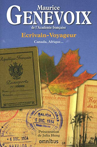 Ecrivain-voyageur (French Edition): Maurice Genevoix