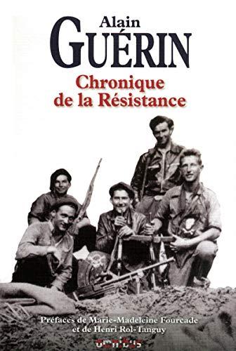 9782258084407: Chronique de la Résistance (French Edition)